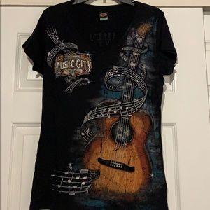 Harley-Davidson T-shirt w/bling
